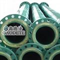 供应钢衬聚氨酯耐磨管