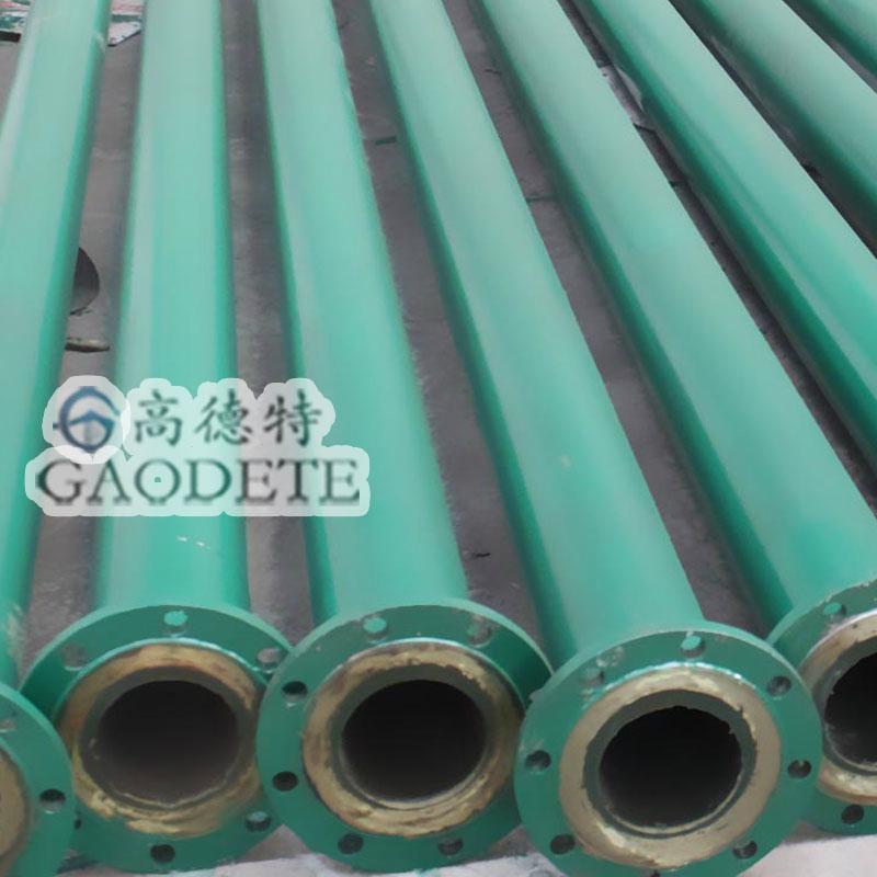 湖南钢衬聚氨酯耐磨管道 2