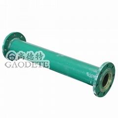 湖南鋼襯聚氨酯耐磨管道