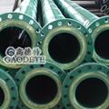 供应新疆地区输油用钢衬聚氨酯七通管件 2