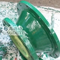 供应新疆地区输油用钢衬聚氨酯七通管件 3
