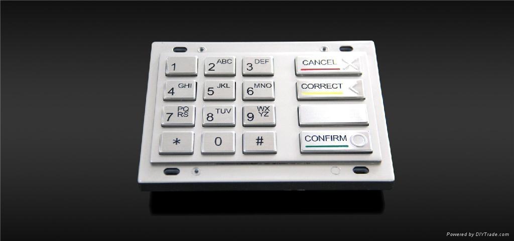 金属加密键盘 1