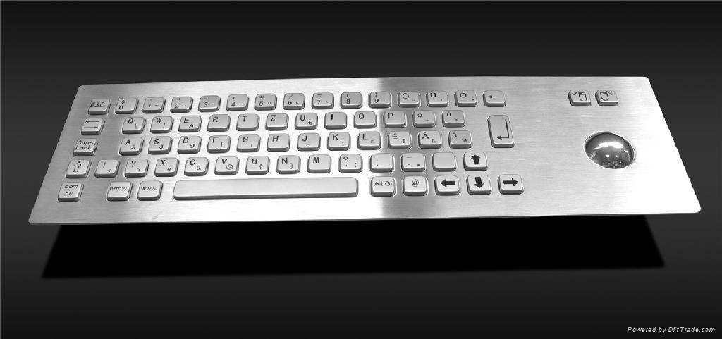 工业专用金属PC键盘 1