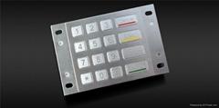 金屬加密鍵盤