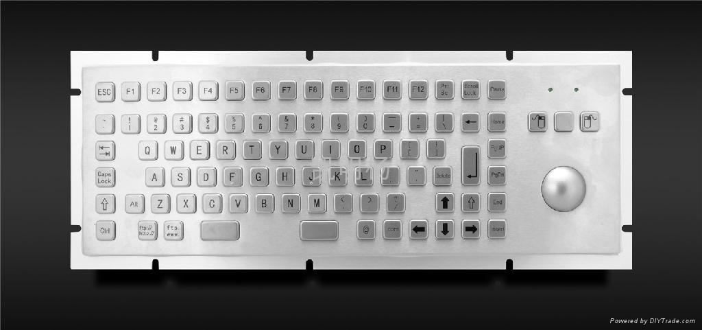工业金属PC键盘 1