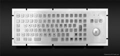 工業金屬PC鍵盤