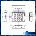 3501B银联认证键盘PCI键国密工行保管箱PCI键盘 4