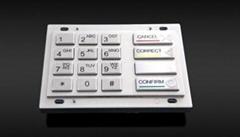 银行保管箱银行柜台银行加密键盘PCI认证键盘银联国密键盘