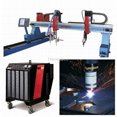 New type Eco-gantry type plasma cutting machine