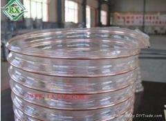不含塑化剂PU钢丝排风管