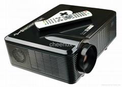 3D DVB-T projector with