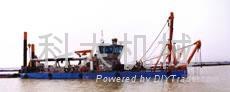 码头清淤船
