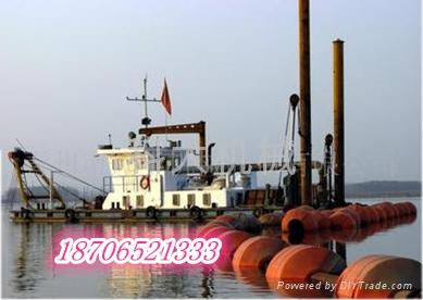 码头清淤船 3