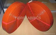 Silicone Rubber Coated Fiberglass Fire