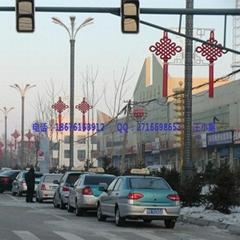 LED中國結LED中國結燈路燈杆中國結髮光中國結
