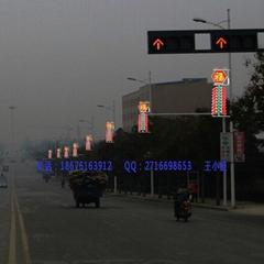 LED造型燈安裝在燈杆發光的LED造型燈發光燈籠