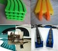 UHMWPE Polyethylene Plastic Chain Guide