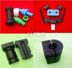 Custom UHMWPE Plastic Hardware spare parts Supplier