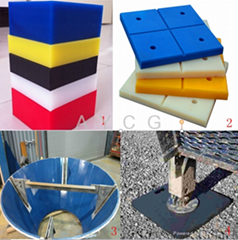 OEM UHMW Engineering Plastic Hdpe Sheet/UHMW Board/Pad