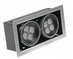 LED格栅灯70W