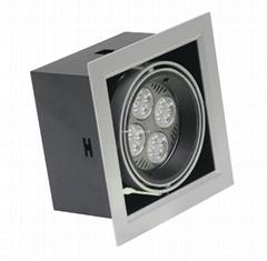 LED格柵燈35W