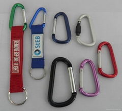 织带钥匙扣登山钥匙扣