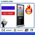 42 inch digital indoor advertising screens Floor Stand LCD Media Player