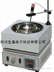 郑州宝晶DF-101S集热式恒温加热磁力搅拌器