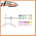 New Design Micro USB Cable Mobile Charger Data Cable for samsung iphone 4 4s 5 6 3