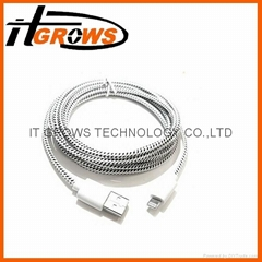 New Design Micro USB Cable Mobile Charger Data Cable for samsung iphone 4 4s 5 6
