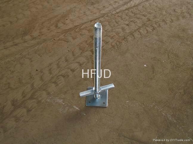 Solid Screw U-Head Scaffolding Base Jack (Factory) 1