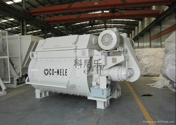 双卧轴强制式混凝土搅拌机 JS3000 1