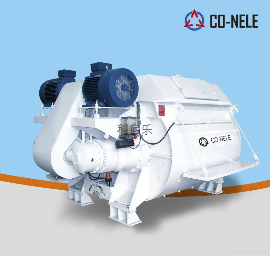臥軸攪拌機 JS4000 1