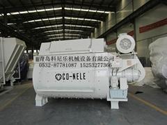 雙臥軸強制混凝土攪拌機JS2000
