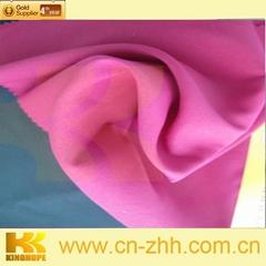 Safety polyester filament shiny jacquard fabric