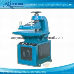 Manual Hydraulic T Shirt Bags Puncher Machine