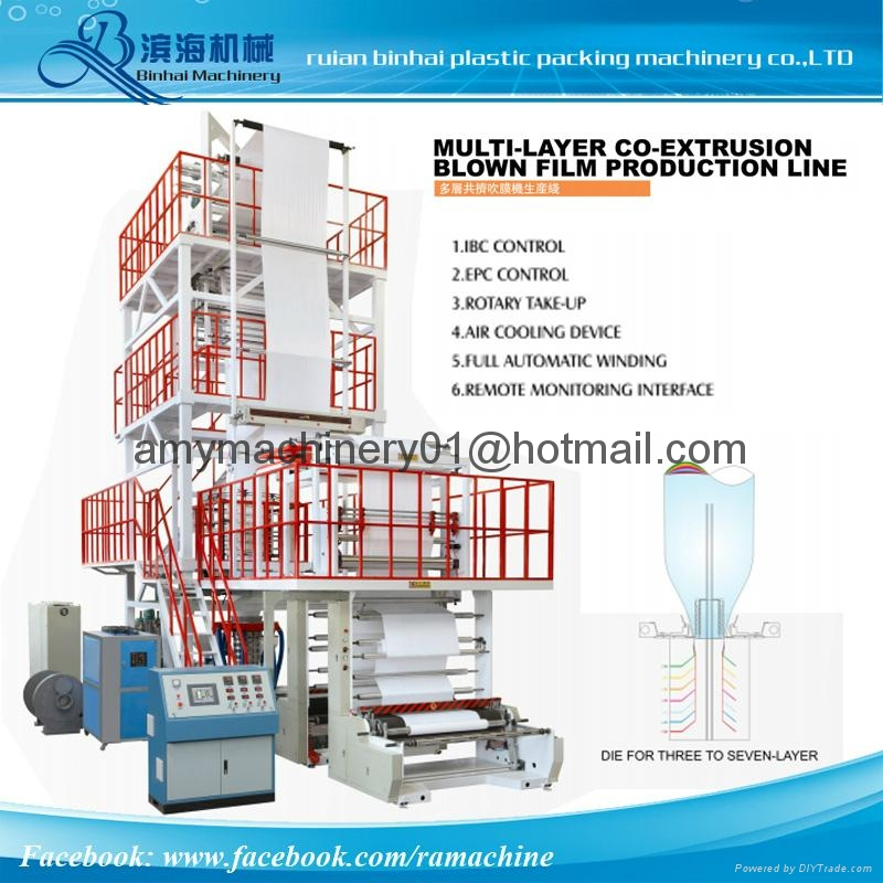 Multilayer Film Blowing Machine 1