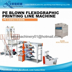 One line Film Blowing Printing machine