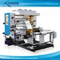 2 Colors High Speed Flexo Printing