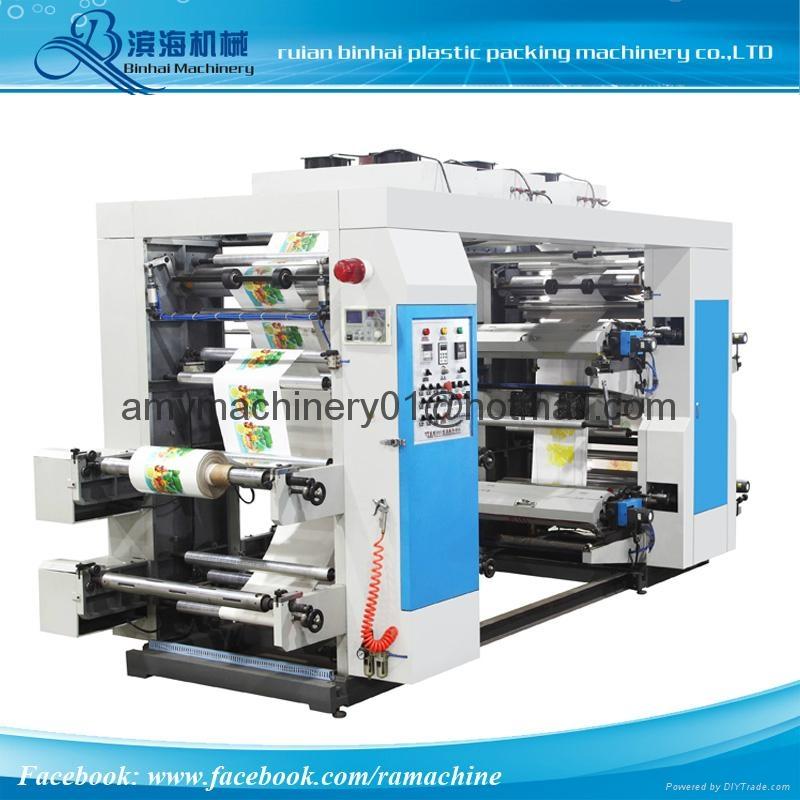4 Colors High Speed Printing machine 1
