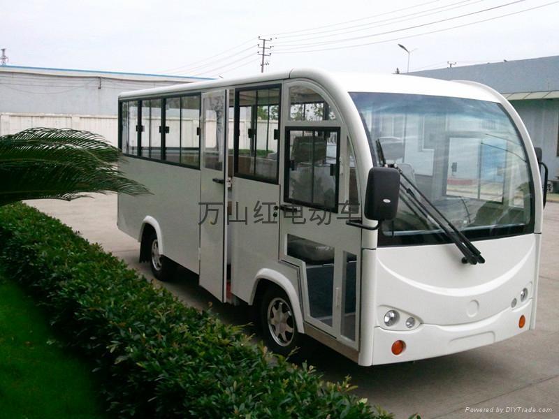 萬山紅電動短途客運車 1