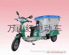 萬山紅電動三輪保潔車 1