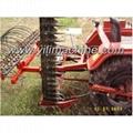9GBL mower with rake 2