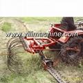 9GBL mower with rake 3