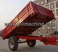 Tractor trailer/trailer