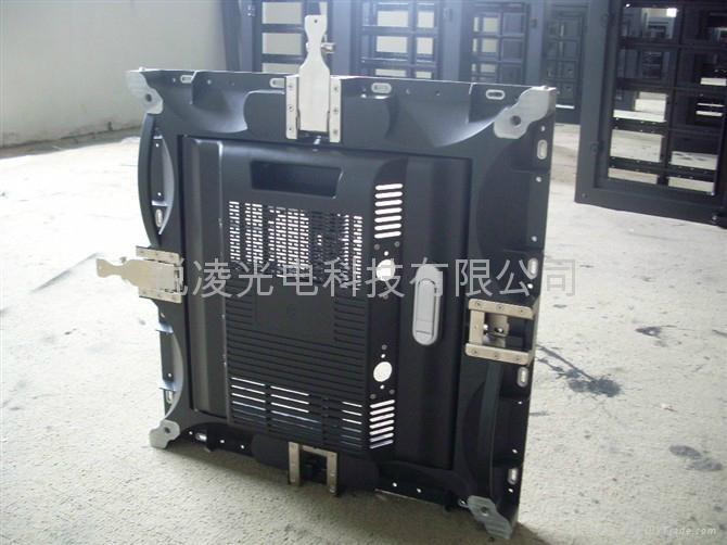 晶元高清P4.8壓鑄鋁LED電子顯示屏 2