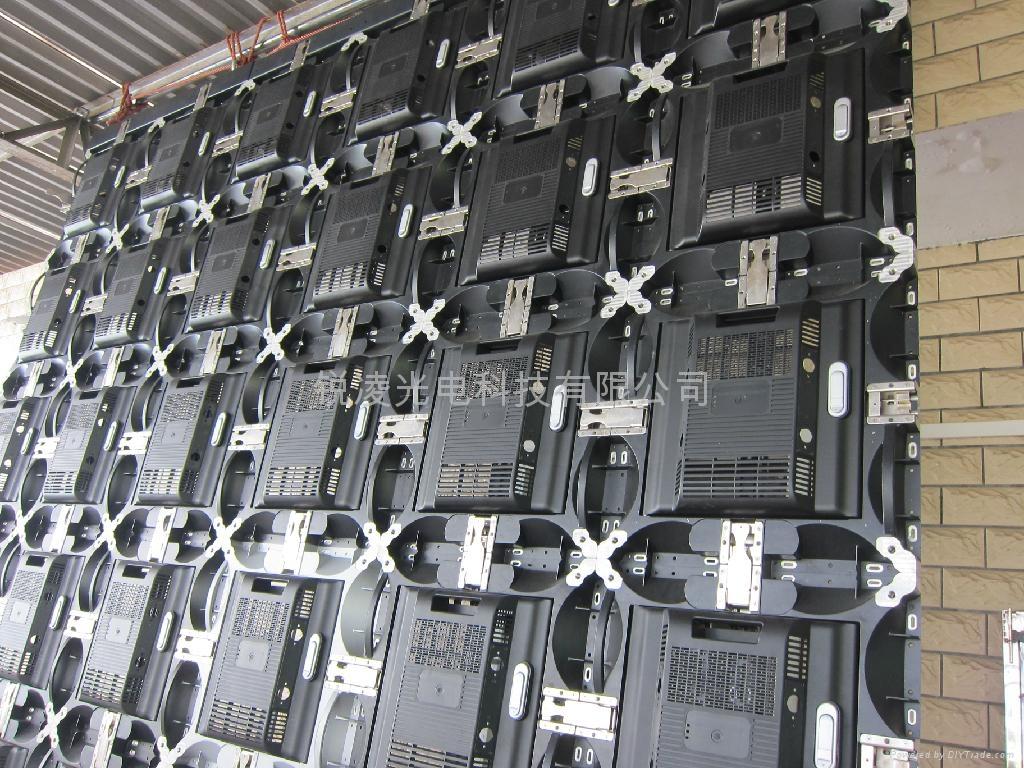 晶元高清P4.8壓鑄鋁LED電子顯示屏 4