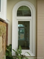 Arched PVC Window with grills design 1