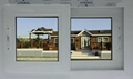 PVC glass sliding window