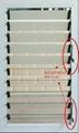 Glass louver shutter window